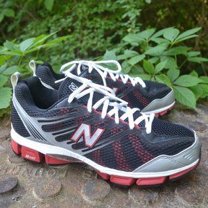 New Balance 770 Black/Red/Gray Running Shoes 9.5d